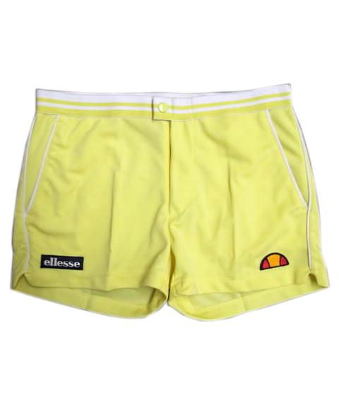 tortoreto shorts in yellow WHITE BACK