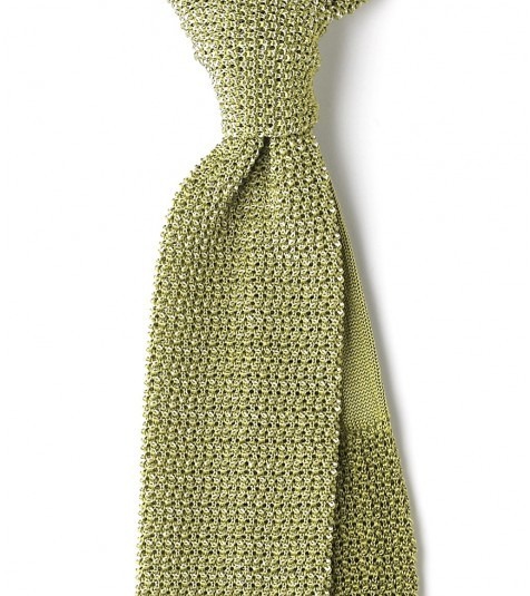 Drake knitted tie
